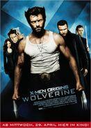 X-Men Origins Wolverine Filmposter