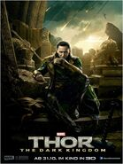 Charakterposter 2 Loki - Thor The Dark Kingdom
