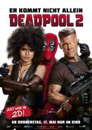 Deadpool 2 deutsches Kinoposter