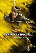 Thor Ragnrok Charakterposter Loki