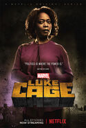 Marvel's Luke Cage Staffel 1 Mariah Dilllard Charakterposter
