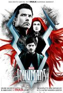 Marvel's Inhumans Staffel 1 Poster
