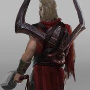 Thor Ragnarok Konzeptzeichnung 34