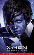 X-Men Apocalypse - Nightcrawler deutsches Charakterposter