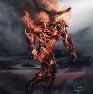 Thor Ragnarok Konzeptzeichnung 12