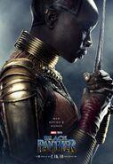 Black Panther Charakterposter Ayo