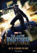 Black Panther deutsches Teaserposter