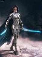 Thor Ragnarok Konzeptzeichnung 124