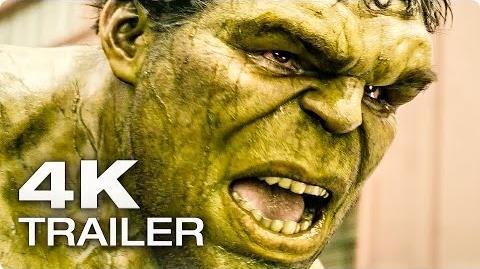 AVENGERS 2 Age Of Ultron Extended Trailer German Deutsch 2015 4K