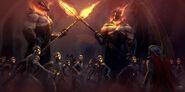Thor Ragnarok Konzeptzeichnung 18