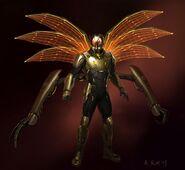 Ant-Man - Konzeptzeichnung 1
