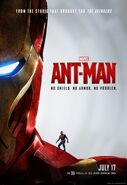Ant-Man Iron Mans Rüstung Poster US