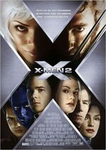 X-Men 2 deutsches Kinoposter
