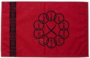 Zehn Ringe Flagge