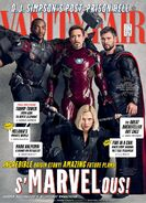 Avengers - Infinity War Vanity Fair Cover 1