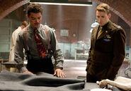 Howard Stark und Steve Rogers
