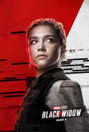 Black Widow - Charakterposter Yelena Belova