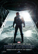 Captain America 2 Filmposter