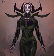 Thor Ragnarok Konzeptzeichnung 52