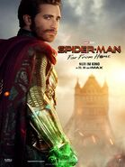 Spider-Man - Far From Home deutsches Charakterposter Mysterio