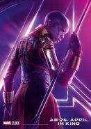 Avengers - Infinity War - Deutsches Okoye Poster