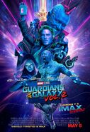 Guardians of the Galaxy Vol. 2 IMAX Poster