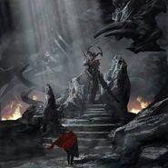 Thor Ragnarok Konzeptzeichnung 144