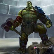 Thor Ragnarok Konzeptzeichnung 46