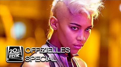 "X-Men Apocalypse ""Storm"" Ororo Munroe Character-Clip Deutsch HD (Alexandra Shipp)"