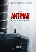Ant-Man Thors Hammer Poster US
