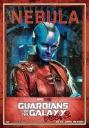 Guardians of the Galaxy Vol.2 deutsches Charakterposter Nebula