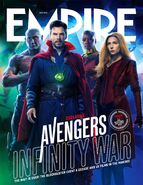 Avengers - Infinity War Empire Cover 5