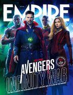Avengers - Infinity War Empire Cover 5