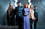Marvel's Inhuamns Entertainment Weekly Promobild