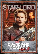 Guardians of the Galaxy Vol.2 deutsches Charakterposter Star-Lord