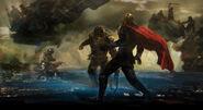 Thor Ragnarok Konzeptzeichnung 141