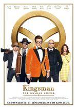 Kingsman - The Golden Circle deutsches Kinoposter