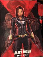 Black Widow D23 Poster