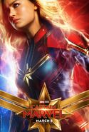 Captain Marvel Charakterposter Captain Marvel