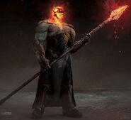 Thor Ragnarok Konzeptzeichnung 24