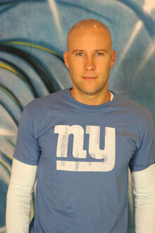 Michael Rosenbaum at the BE Blow Out