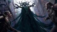 Thor Ragnarok Konzeptzeichnung 1
