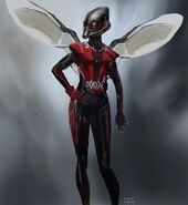 Ant-Man - Konzeptzeichnung 32