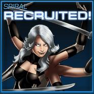 Spiral Recruited