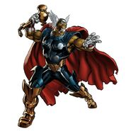 Beta Ray Bill Portrait Art