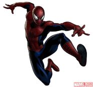 Amazing Spider-Man Portrait Art