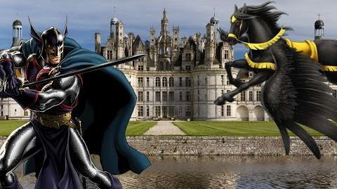BLACK KNIGHT's Moves Set - Marvel Avengers Alliance - Conjunto de Movimientos de El Caballero Negro