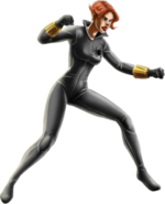 Black Widow-Grey Suit-iOS