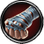 Zerrissene Handschuhe Task Icon