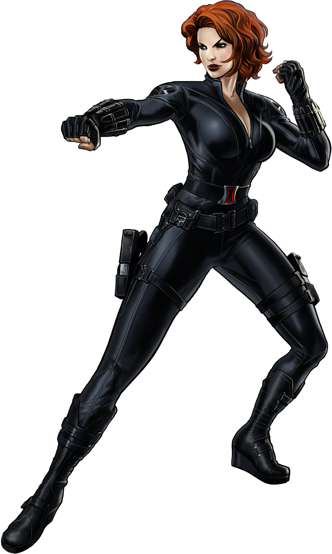 Image - Black Widow-B Portrait Art.png | Marvel: Avengers ...